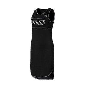 Modern Sports Dress Cotton Black