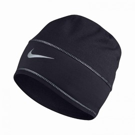 Pánská čepice Nike U NK BEANIE SKULLY RUN | 803947-010 | Černá | MISC