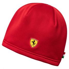 Pánská Čepice Puma Ferrari SF Fanwear Beanie Rosso Corsa | 021282-01 | Červená | ADULT