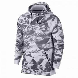 Pánská Mikina Nike M NK DRY HOODIE HPR FLC CLOUD   860505-043   Šedá, Bílá   2XL