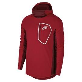 Pánská Mikina Nike M NSW AV15 HOODIE FLC PO | 885935-657 | Červená | L
