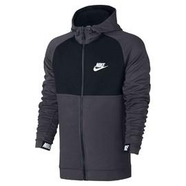 Pánská mikina Nike M NSW AV15 HOODIE FZ FLC   861742-071   Černá   XL