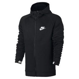 Pánská Mikina Nike M NSW AV15 HOODIE FZ FLC   861742-010   Černá   M