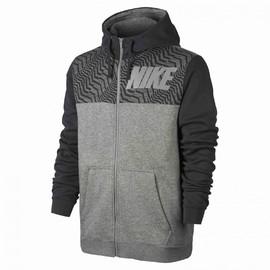 Pánská mikina Nike M NSW HOODIE FZ FLC GX   861722-063   Šedá   S