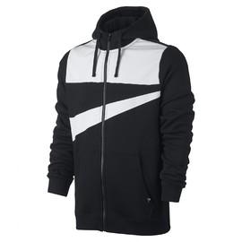 Pánské Mikiny Nike M NSW HOODIE FZ FLC HYBRID | 861712-010 | Černá | 2XL