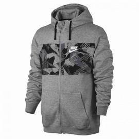 Pánská mikina Nike M NSW HOODIE FZ FLC SP   831830-063   Šedá   S