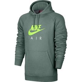 Pánská mikina Nike M NSW HOODIE PO FLC AIR HRTG   810806-386   Zelená   XL