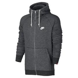 Pánská Mikiny Nike M NSW LEGACY HOODIE FZ FT | 805057-071 | Šedá | 2XL