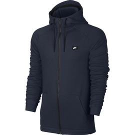 Pánská mikina Nike M NSW MODERN HOODIE FZ BB | 835858-451 | Modrá | M