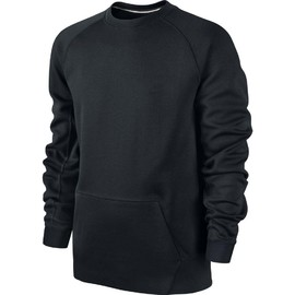 Pánské Mikiny Nike TECH FLEECE CREW | 545163-012 | Černá | 2XL