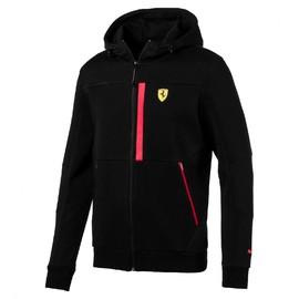 Pánská mikina Puma Ferrari SF Hooded Sweat Jacket Puma Bl | 762243-02 | Černá | M