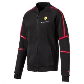 Pánská mikina Puma Ferrari SF Sweat Jacket Cotton Black | 762132-02 | Černá | S