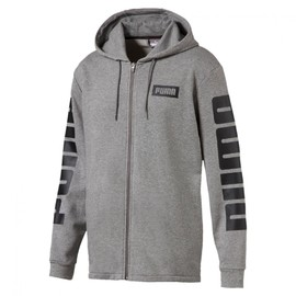 Rebel FZ Hoody TR Medium Gray