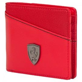 Pánská peněženka Puma Ferrari Ferrari LS Wallet M rosso cors | 073945-02 | Červená | NS