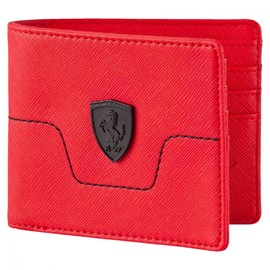 Pánská Peněženka Puma Ferrari LS Wallet M Rosso Cors | 074209-02 | Červená | NS