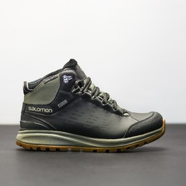 Pánská Treková obuv Salomon KA?PO CS WP 2 TEMPEST/ASPHALT/ | 391830 | Černá | 42