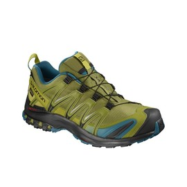 Pánská Treková obuv Salomon SHOES XA PRO 3D GTX | 404720 | Zelená | 44 2/3