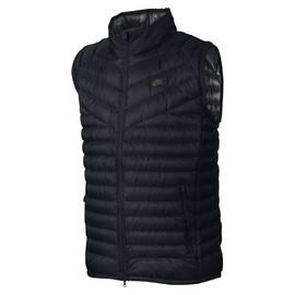Pánská vesta Nike M NSW VST DWN FLL GUILD | 822866-010 | Černá | S