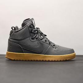 Pánská Zimní obuv Nike COURT BOROUGH MID WINTER | AA0547-001 | Šedá | 41