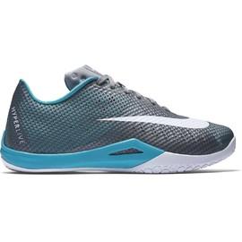 Pánské basketbalové boty Nike HYPERLIVE | 819663-004 | Šedá, Modrá | 40