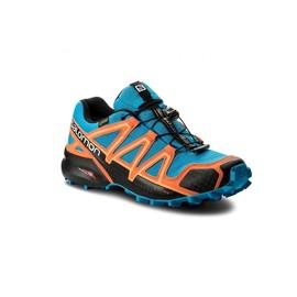 Pánské Běžecké boty Salomon SPEEDCROSS 4 GTXR | 401248 | Oranžová, Modrá | 44 2/3