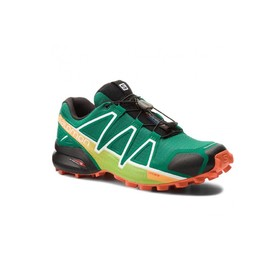 Pánské Běžecké boty Salomon SPEEDCROSS 4 | 400761 | Zelená | 44 2/3