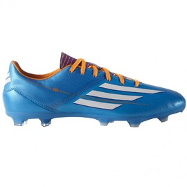 Pánské kopačky adidas F10 TRX FG   D67146   Modrá   42