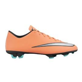 Pánské kopačky Nike MERCURIAL VICTORY V FG | 651632-803 | Oranžová | 41