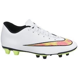 Pánské kopačky Nike MERCURIAL VORTEX II FG | 651647-170 | Bílá | 44