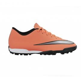 Pánské kopačky Nike MERCURIAL VORTEX II TF   651649-803   Oranžová   42