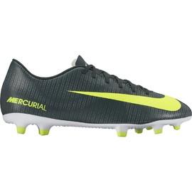 Pánské kopačky Nike MERCURIAL VORTEX III CR7 FG | 852535-376 | Zelená | 42,5