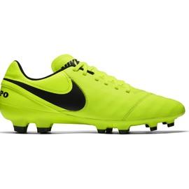 cf287e4fa Pánské kopačky Nike TIEMPO GENIO II LEATHER FG | 819213-707 | Žlutá | 41