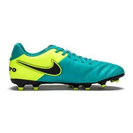 Pánské kopačky Nike TIEMPO RIO III FG | 819233-307 | Tyrkysová, Žlutá | 43