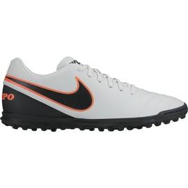 Pánské kopačky Nike TIEMPO RIO III TF | 819237-001 | Bílá | 42