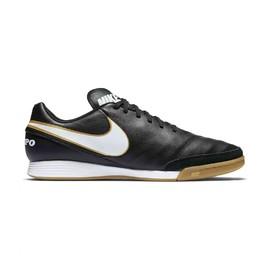 Pánské kopačky Nike TIEMPOX GENIO II LEATHER IC | 819215-010 | Černá | 43