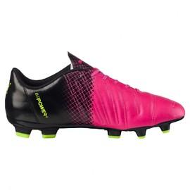 Pánské Kopačky Puma evoPOWER 4.3 FG pink glo-safet | 103585-01 | Růžová, Černá | 43