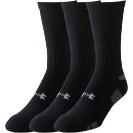 Pánské Ponožky Under Armour UA HEATGEAR 3PK CREW-RED//AST