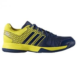 Pánské sálové boty adidas Ligra 4   BA9667   Žlutá, Modrá   44