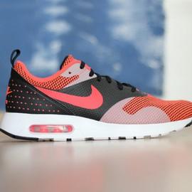 Pánské Tenisky Nike AIR MAX TAVAS PRM   898016-001   Červená, Černá   43