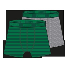 PUMA STRIPE 1515 BOXER 2P green