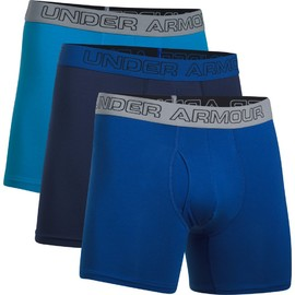 Pánské trenýrky Under Armour Charged Cotton 6inch 3 Pk