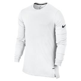 Pánské Trička Nike M NK BRTHE TOP LS ELITE | 830944-100 | Bílá | L