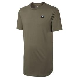 Pánské Trička Nike M NSW TEE MDRN ALT HEM | 873239-222 | Zelená | 2XL