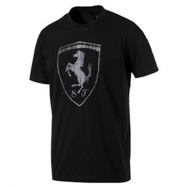 Pánské Tričko Puma Ferrari Ferrari Big Shield Tee Puma Bl | 575241-01 | Černá | L