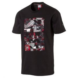 Pánské tričko Puma Ferrari Ferrari Graphic Tee Moonless N | 572804-01 | Černá | S