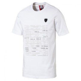 Ferrari Graphic Tee Puma White