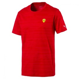 Pánské tričko Puma Ferrari SF Graphic AOP Tee Rosso Corsa | 762136-01 | Červená | S