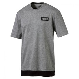 Pánské Tričko Puma Rebel Tee Medium Gray Heather