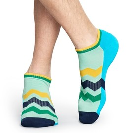 Ponožky Happy Socks Athletic Zig Stripe Low Sock