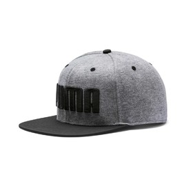 PUMA Flatbrim Cap Medium Gray Heather-Pu